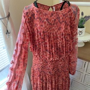 Free People Dusty Pink Dress